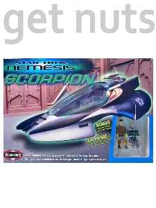 Star Trek: Nemesis Scorpion (Snap Together) Kit p/ Montar - Polar Lights (RARIDADE !)