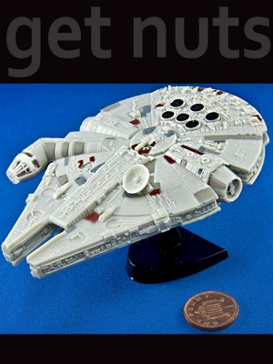 Star Wars: Nave Millenium Falcon Pocket Kit p/ Montar - Revell Pocket Easy Kit