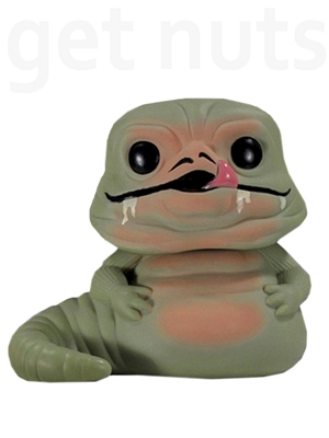 Pop Star Wars: Jabba The Hutt Boneco de Vinil - Funko