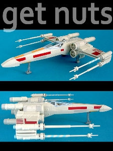 Star Wars: X-Wing Fighter (Luke Skywalker) Nave Kit p/ Montar - Revell Easy Kit