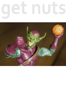 Marvel: Green Goblin Figura de Ação - Diamond Marvel Select