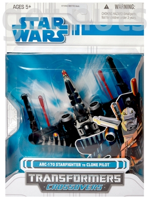 Star Wars:  Transformers Crossovers Arc-170 Starfighter (vira Clone Pilot)