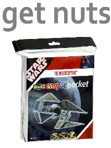 Star Wars: Tie Interceptor Pocket Kit p/ Montar - Revell Pocket Easy Kit