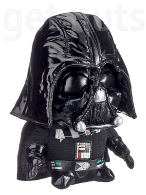 Star Wars: Darth Vader Pelúcia (Super Deformed) - 18 cm
