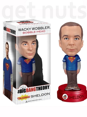 The Big Bang Theory: Sheldon Talking (fala frases) Bobble Head - Funko