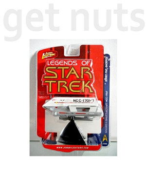 Star Trek: Galileo 2 Shuttlecraft (10cm) Nave - Johnny Lightning Legends of Star Trek
