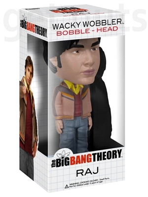 The Big Bang Theory: Raj e Howard Bobble Head - Funko