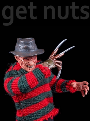Pesadelo em Elm Street Parte 3 (Dream Warriors): Freddy Krueger Figura-Neca