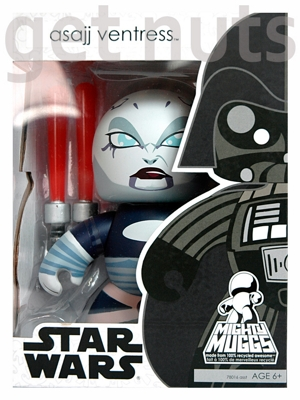 Star Wars:  Asajj Ventress Mighty Muggs - Hasbro