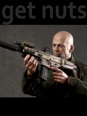 Gi Joe Retaliation: Joe Colton Escala 1/6 Figura de Ação - Hot Toys