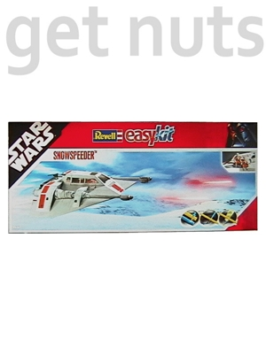 Star Wars: SnowSpeeder  Nave Kit p/ Montar - Revell Easy Kit