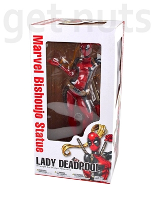 Marvel: Lady Deadpool Estátua Bishoujo (escala 1/7) - Kotobukiya