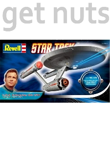 Star Trek: Enterprise NCC-1701 Kit p/ Montar - Revell